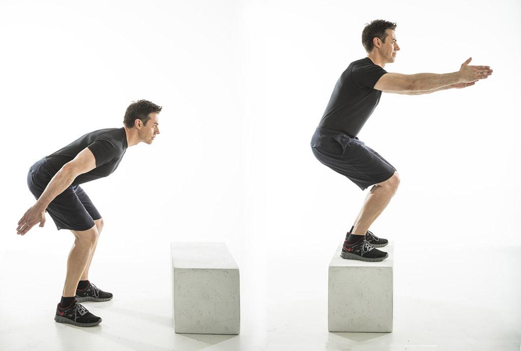 box jump transformer
